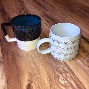 2 Starbucks Coffee Cups